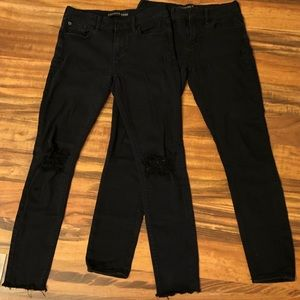2 Pairs of Women's Express Jeans